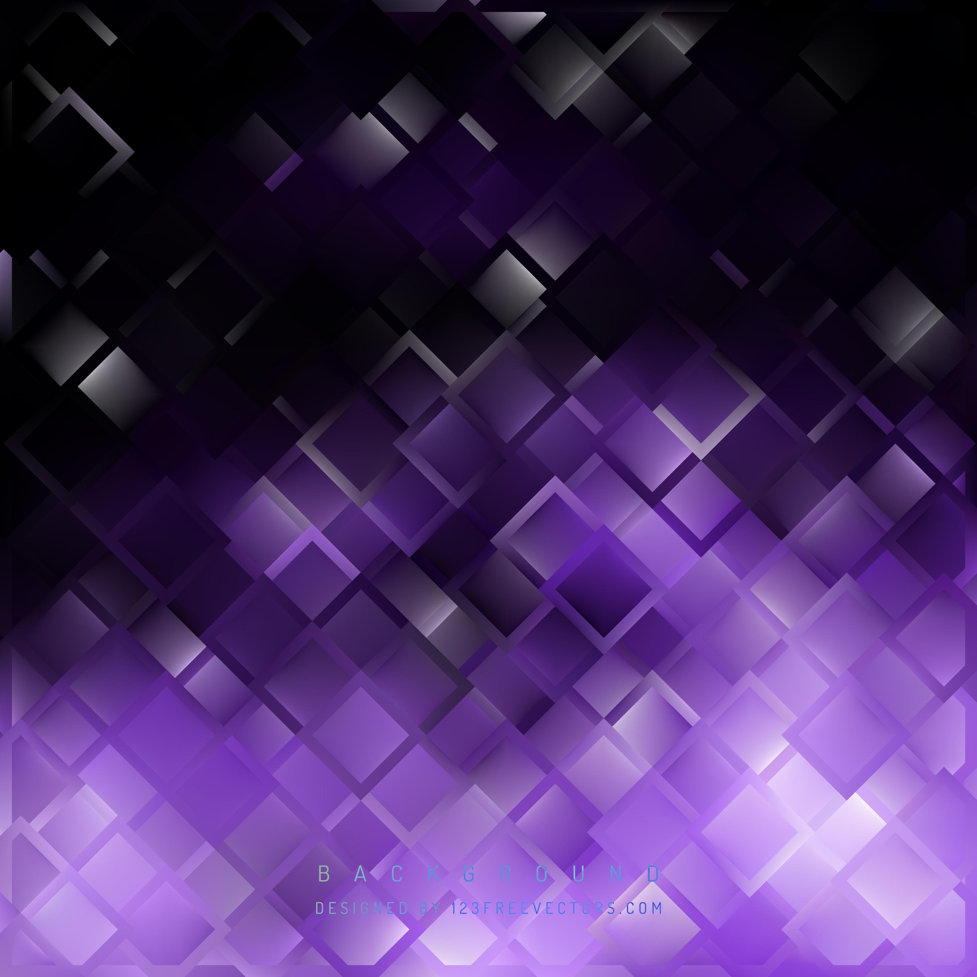 purple black square background design | 123freevectors