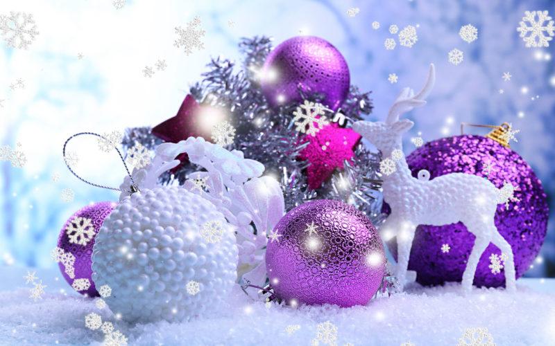 10 Best Purple Christmas Wallpaper Desktop FULL HD 1920×1080 For PC Background 2018 free download purple christmas balls wallpapers high quality download free 800x500