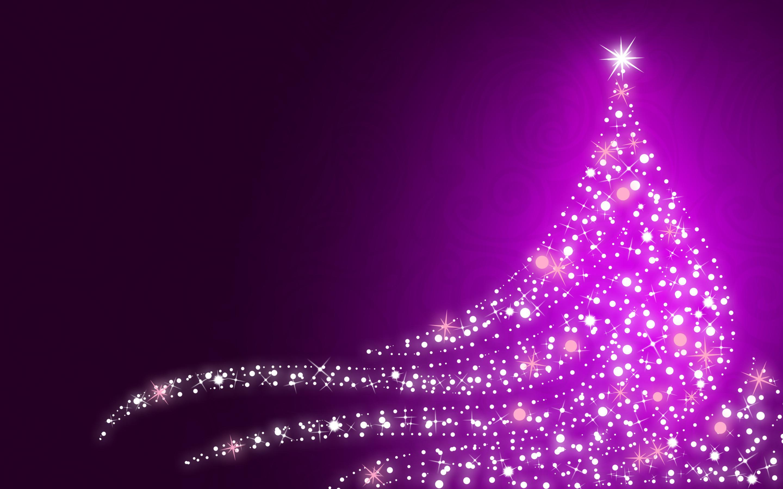 purple christmas tree hd wallpaper | hintergrund | 2880x1800 | id