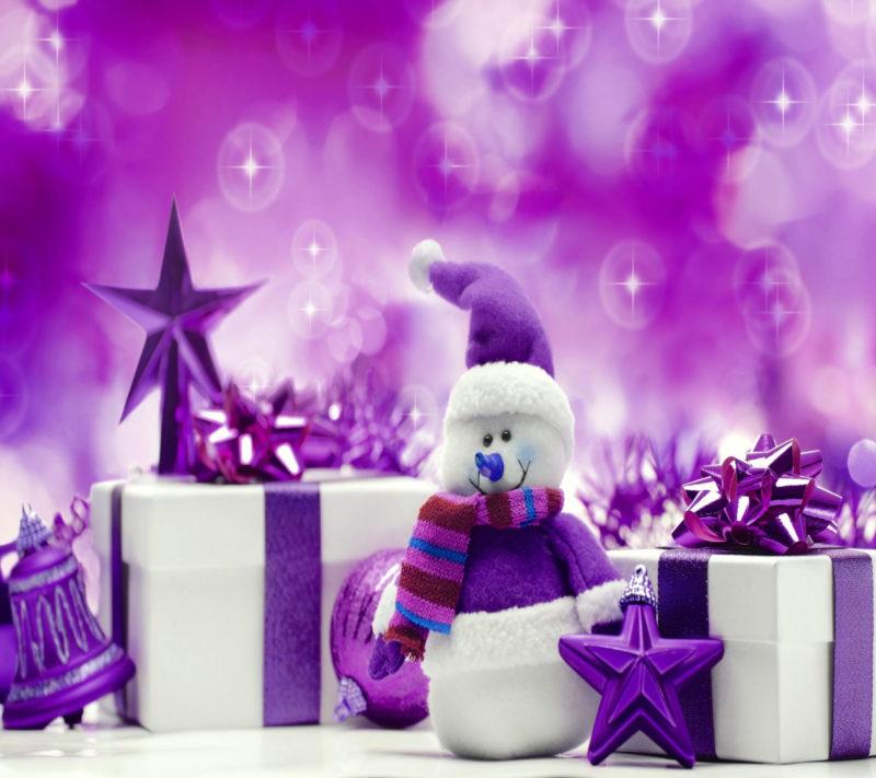 10 Best Purple Christmas Wallpaper Desktop FULL HD 1920×1080 For PC Background 2018 free download purple christmas wallpaper christmas snowman background purple 800x711