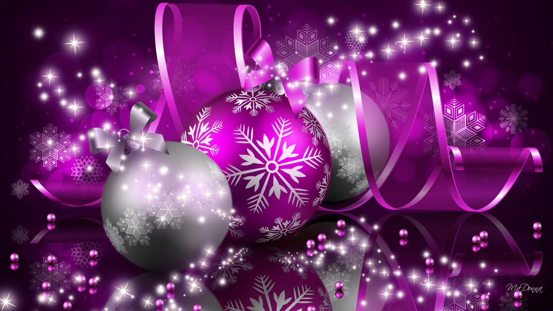 purple christmas wallpaper desktop | purple designer christmas