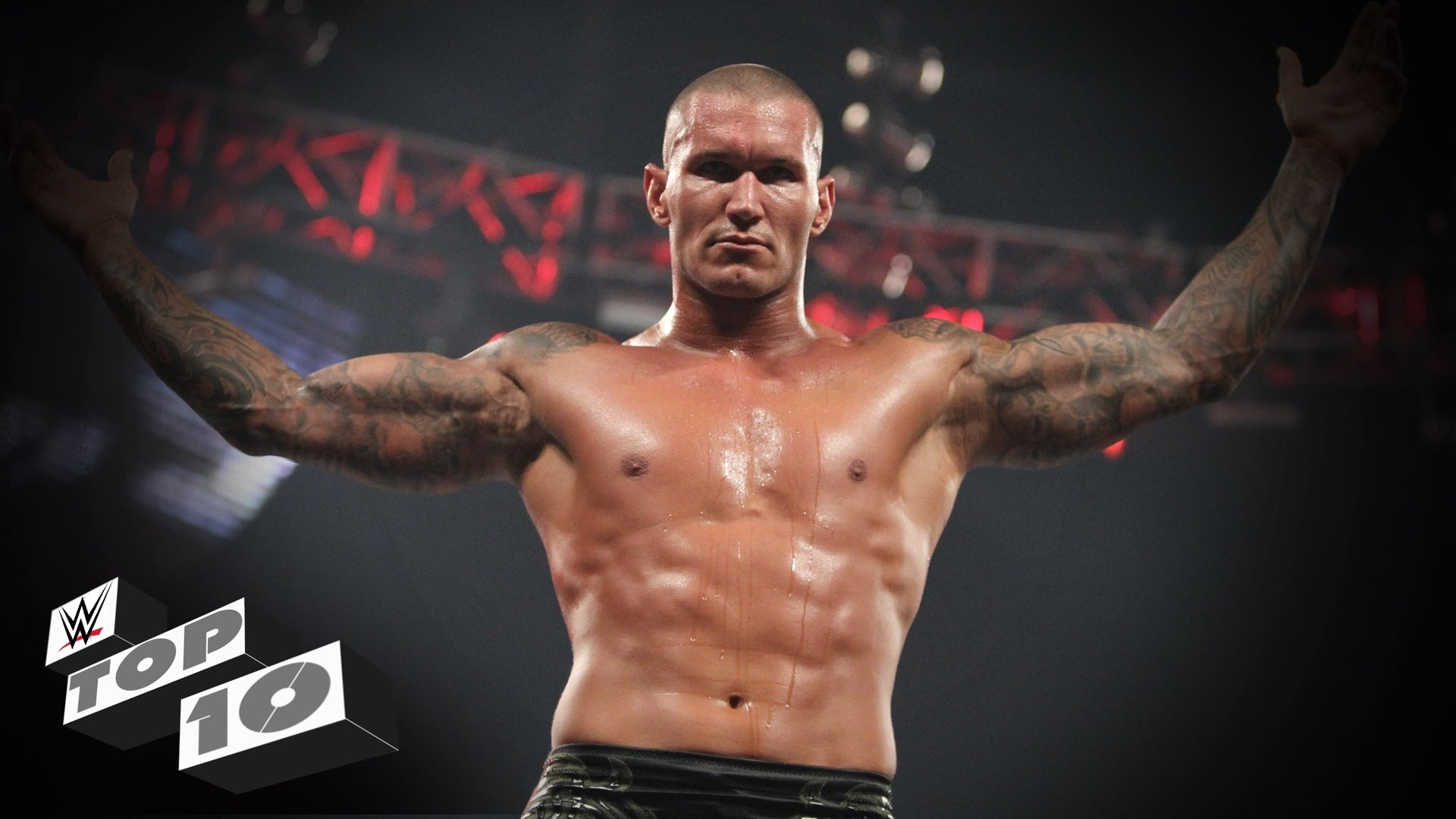randy orton's greatest rkos outta nowhere: wwe top 10 - youtube