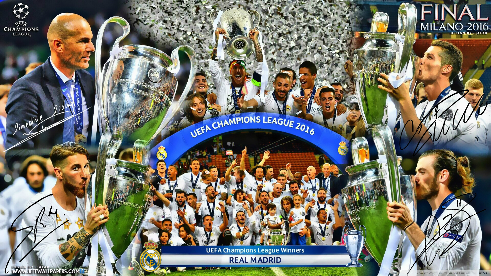 real madrid champions league winners 2016 ❤ 4k hd desktop wallpaper