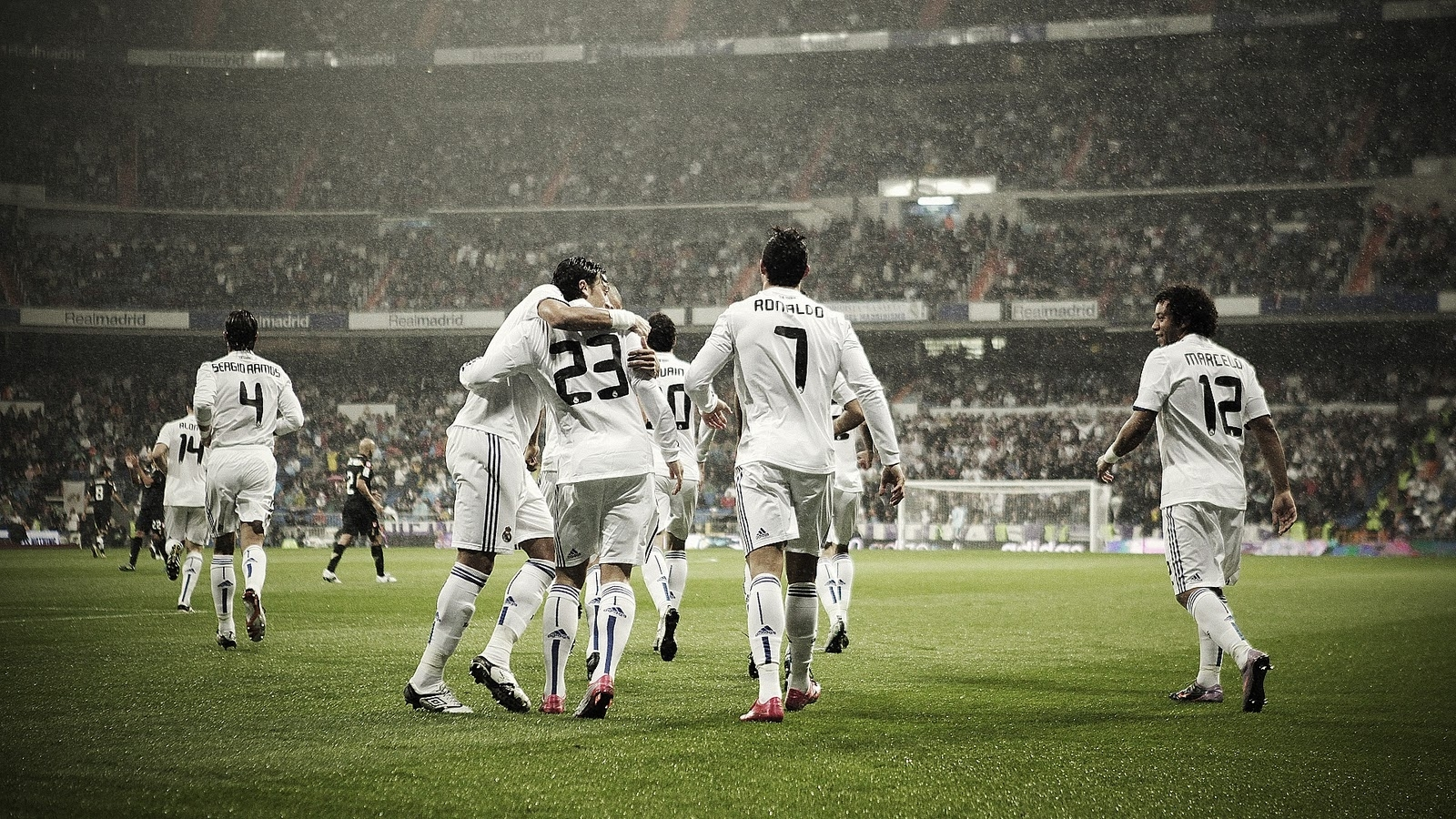 real madrid football team hd wallpaper