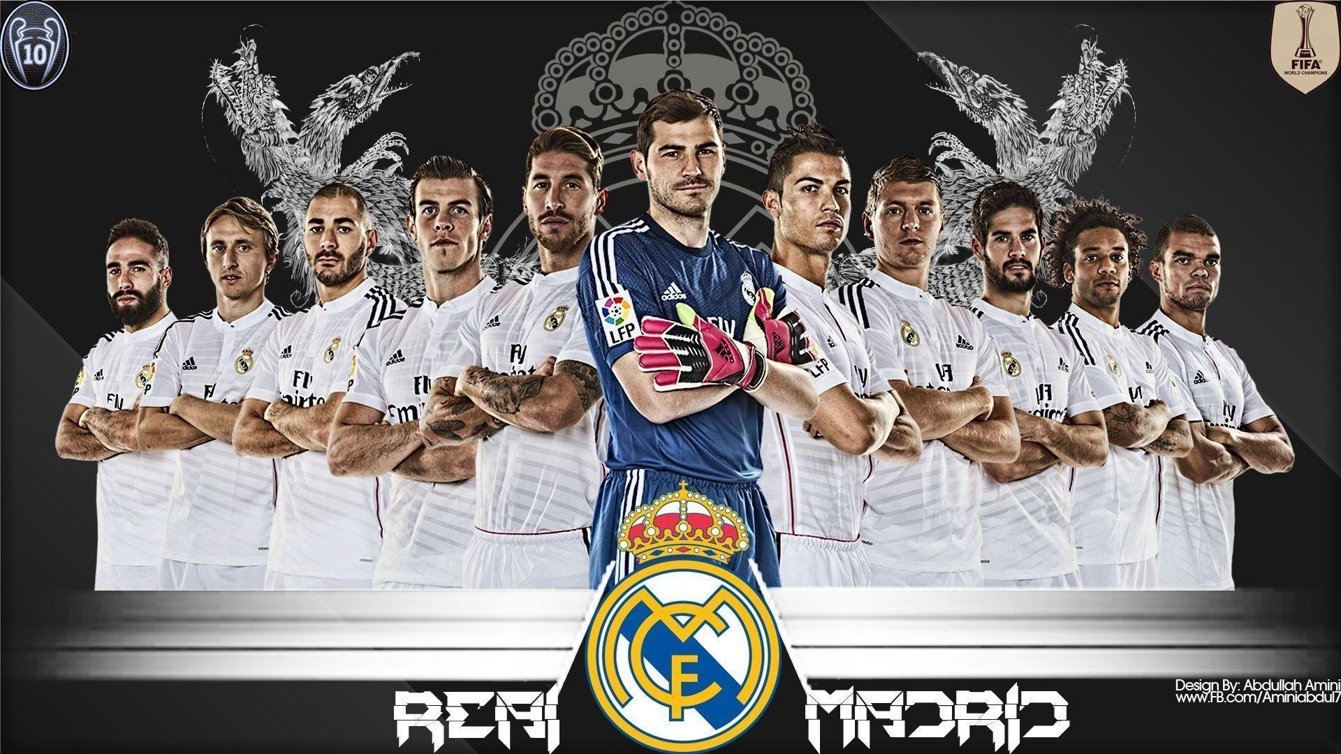10 Most Popular Real Madrid Wallpaper 2015 FULL HD 1920×1080 For PC Desktop