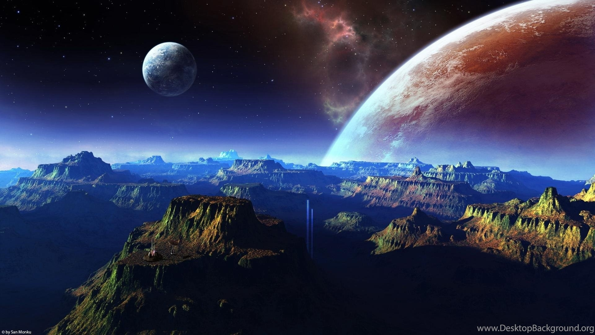 real space hd wallpapers 1080p desktop background