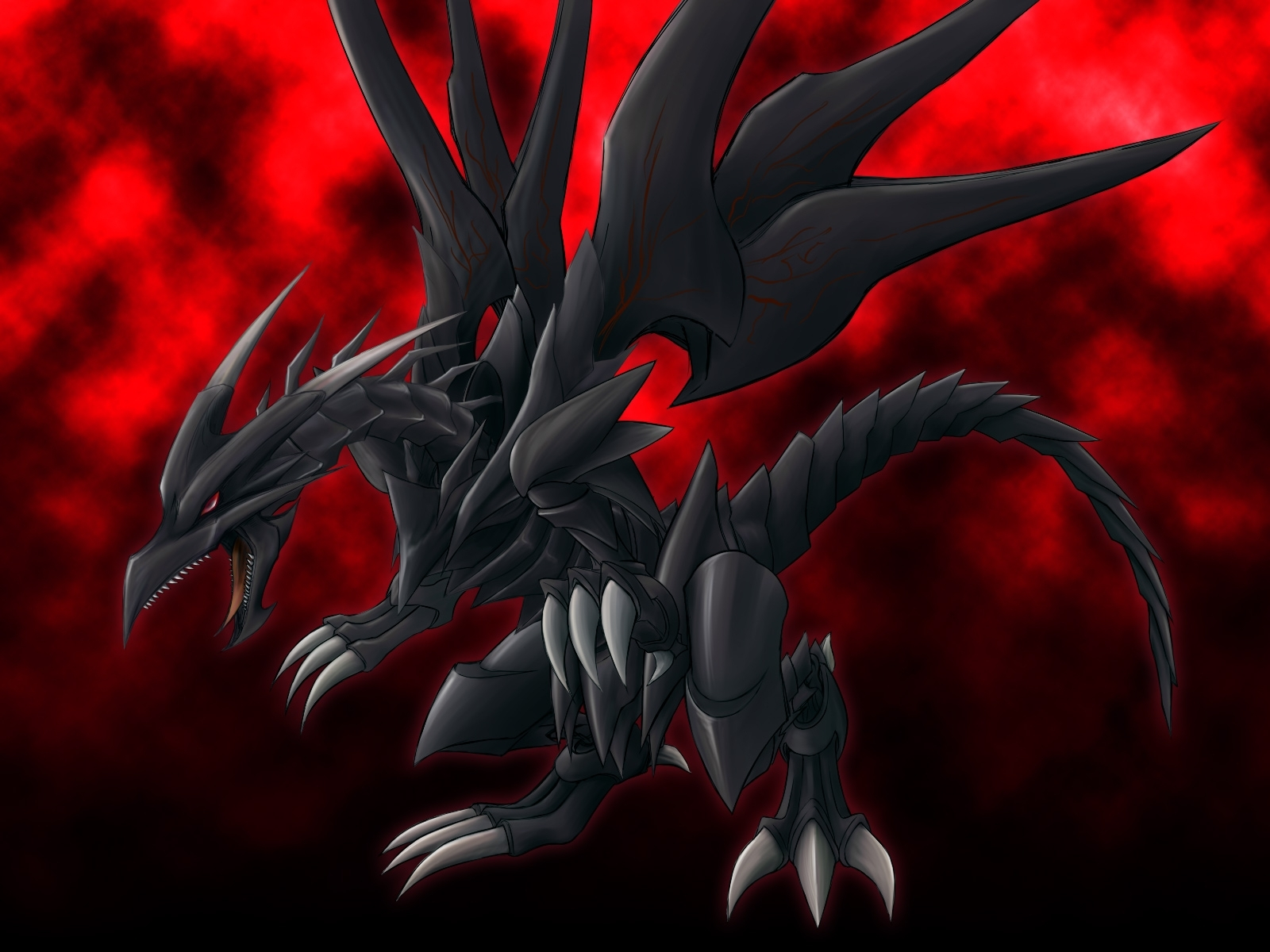 red eyes black dragon wallpaper - wallpaper dekstop
