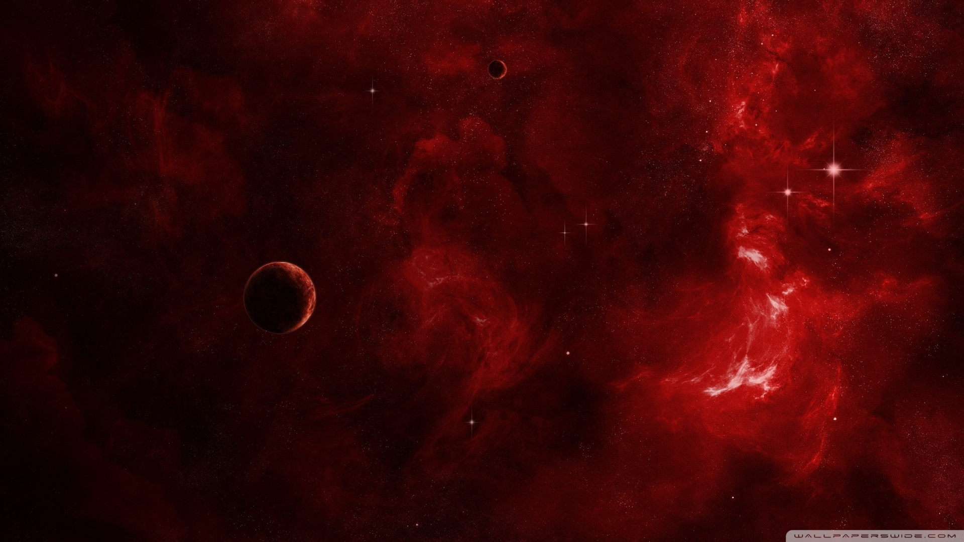 red galaxy ❤ 4k hd desktop wallpaper for 4k ultra hd tv • dual