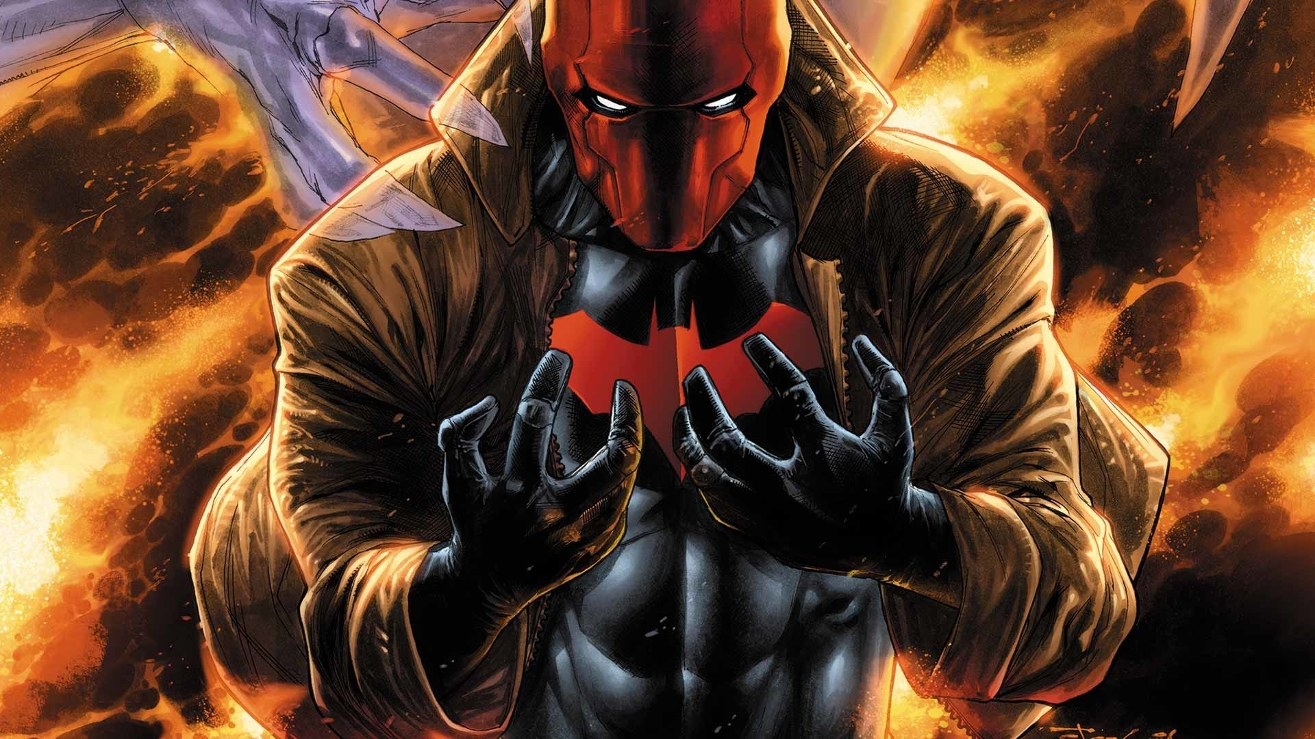 red hood wallpaper hd (79+ images)