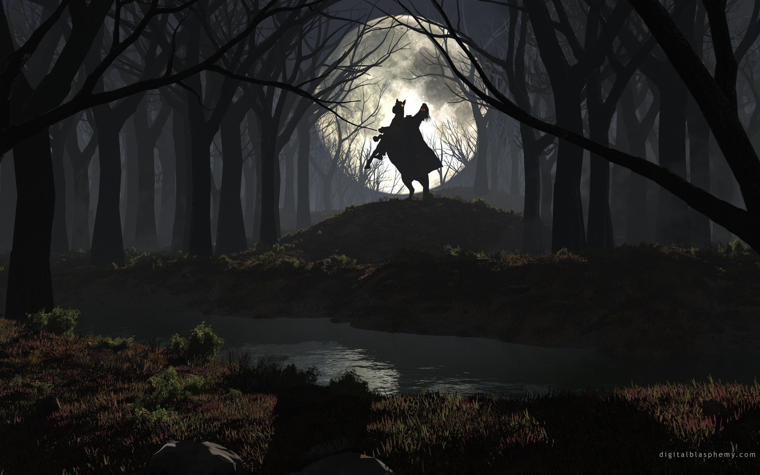 related pictures wallpaper headless horseman halloween hd
