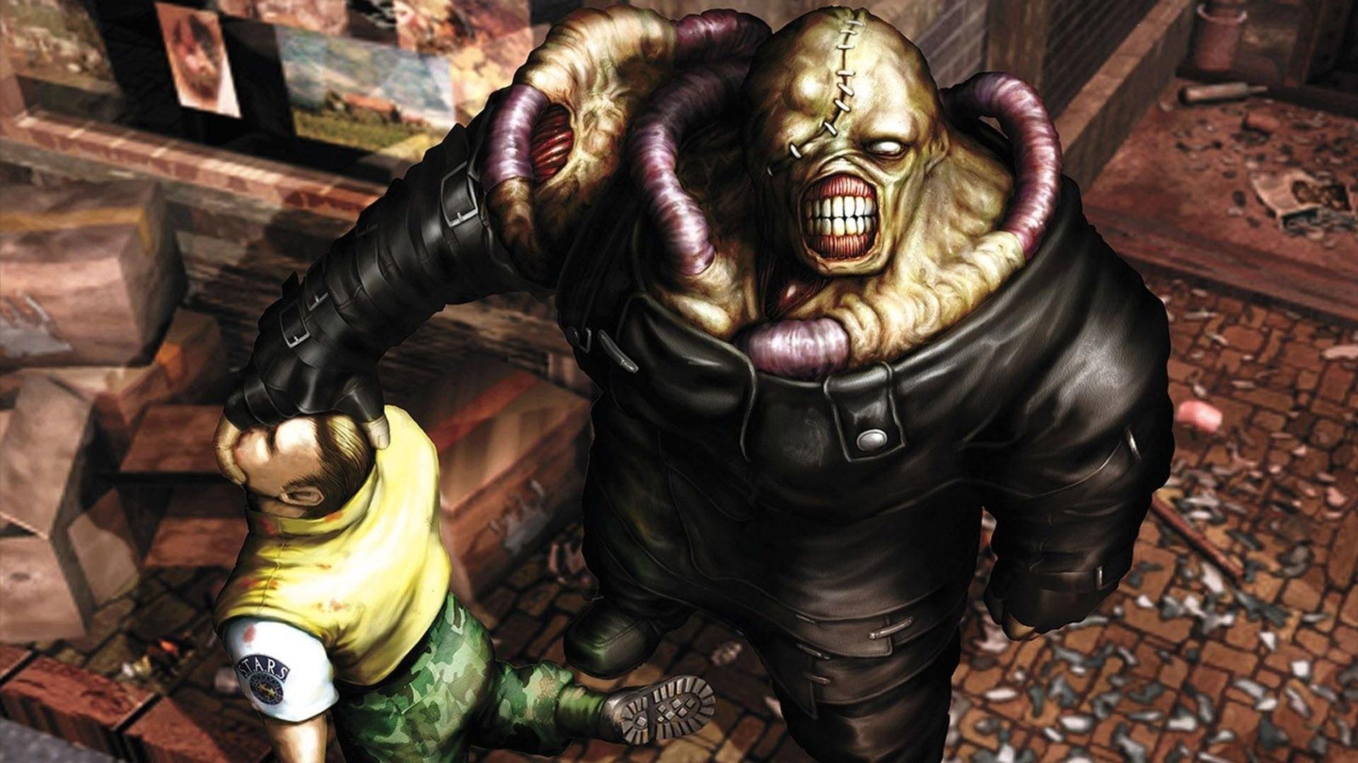 resident evil 3: nemesis full hd fond d'écran and arrière-plan