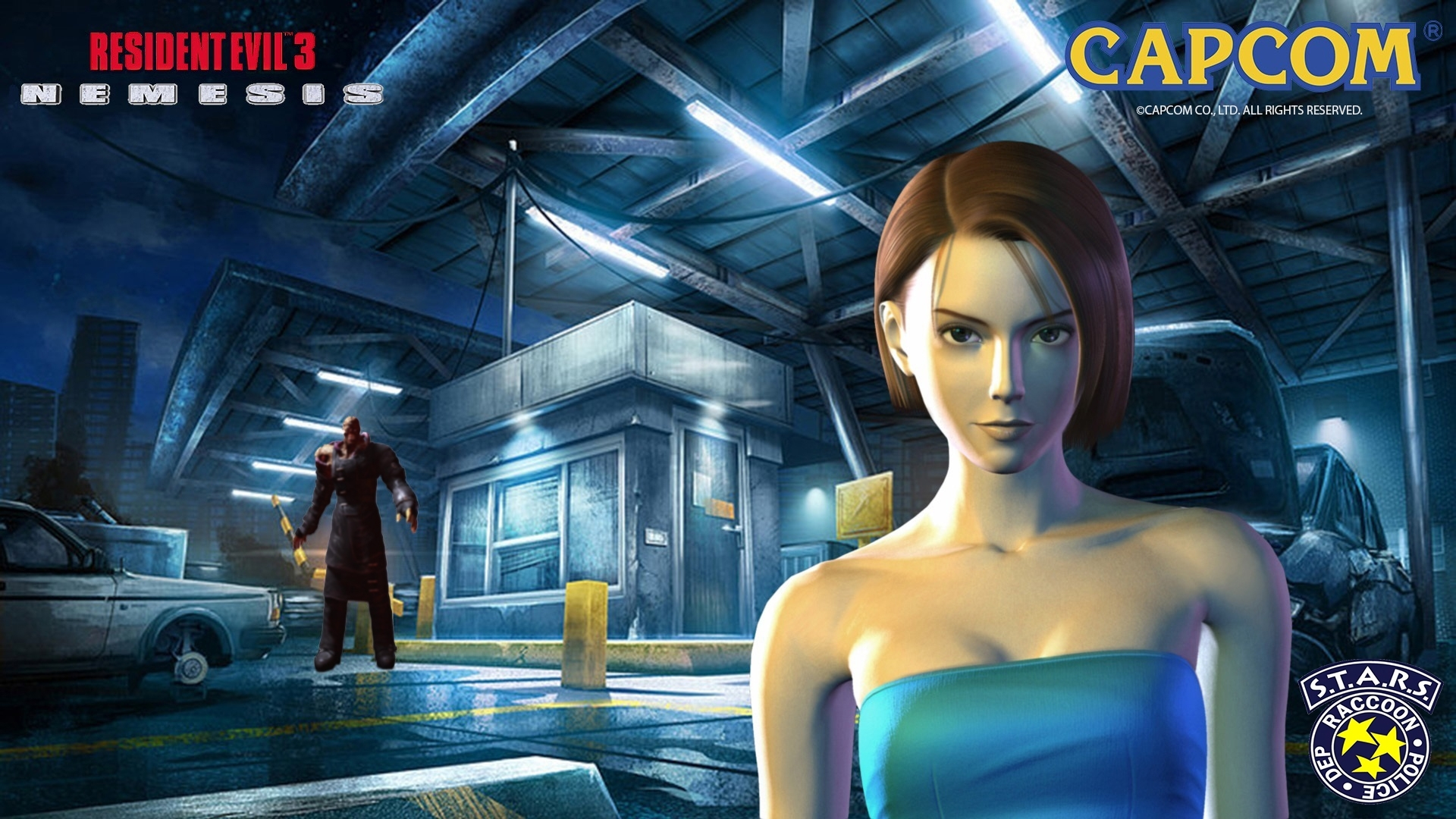 resident evil 3: nemesis full hd wallpaper and background image