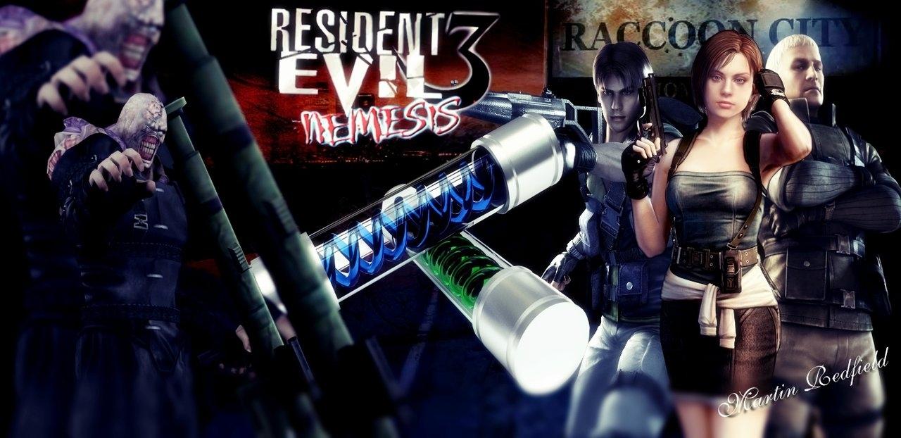 resident evil 3 wallpapermartinredfield on deviantart
