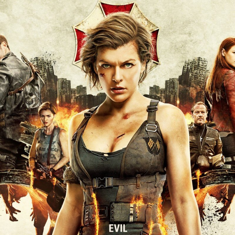 10 Top Resident Evil Movie Wallpaper FULL HD 1920×1080 For PC Desktop 2018 free download resident evil the final chapter 4k 2016 movie hd movies 4k 800x800