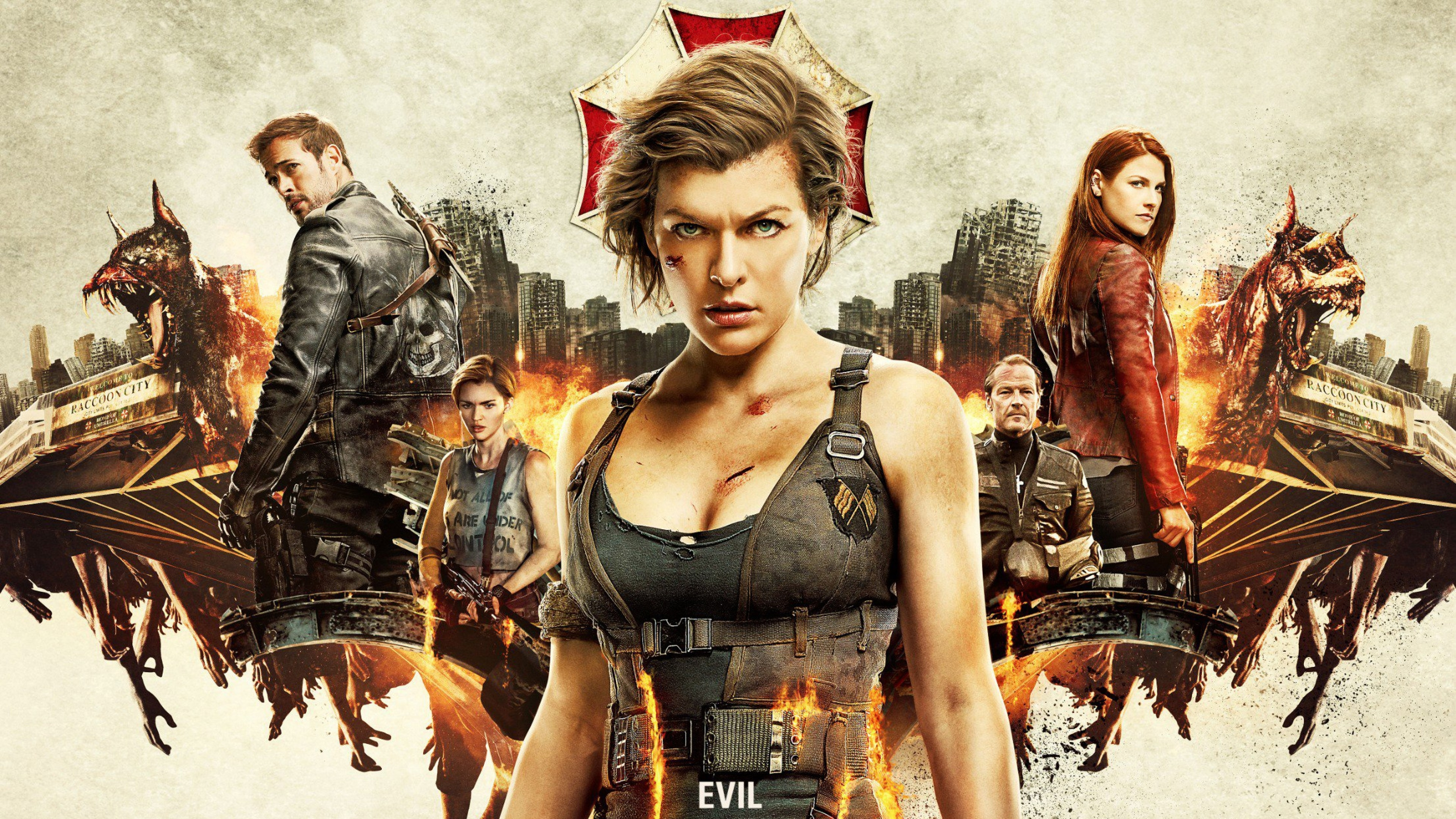 resident evil the final chapter 4k 2016 movie, hd movies, 4k