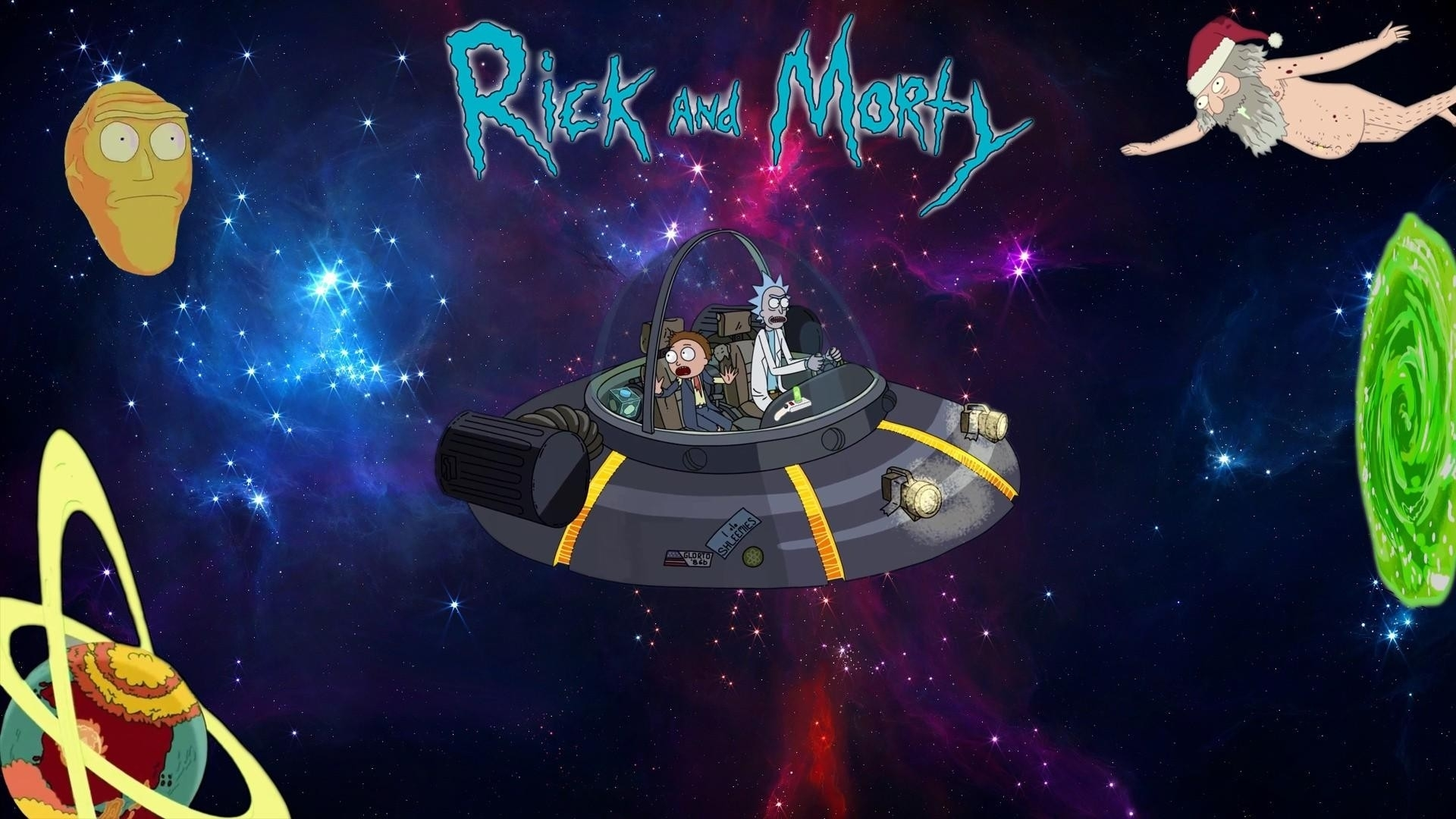 rick and morty desktop backgrounds hd - 2018 cute screensavers
