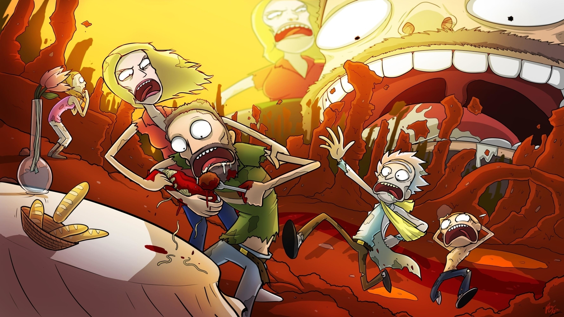 10 new rick and morty 4k wallpaper full hd 1080p for pc desktop - Rick and morty download ...