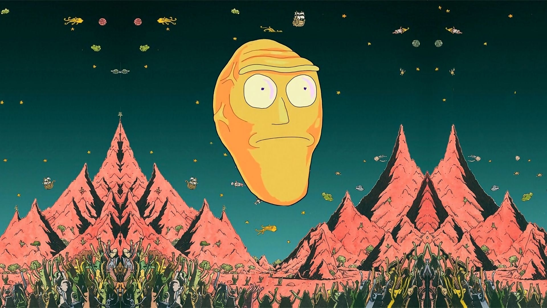 10 New Rick And Morty Wallpaper Hd FULL HD 1080p For PC ...