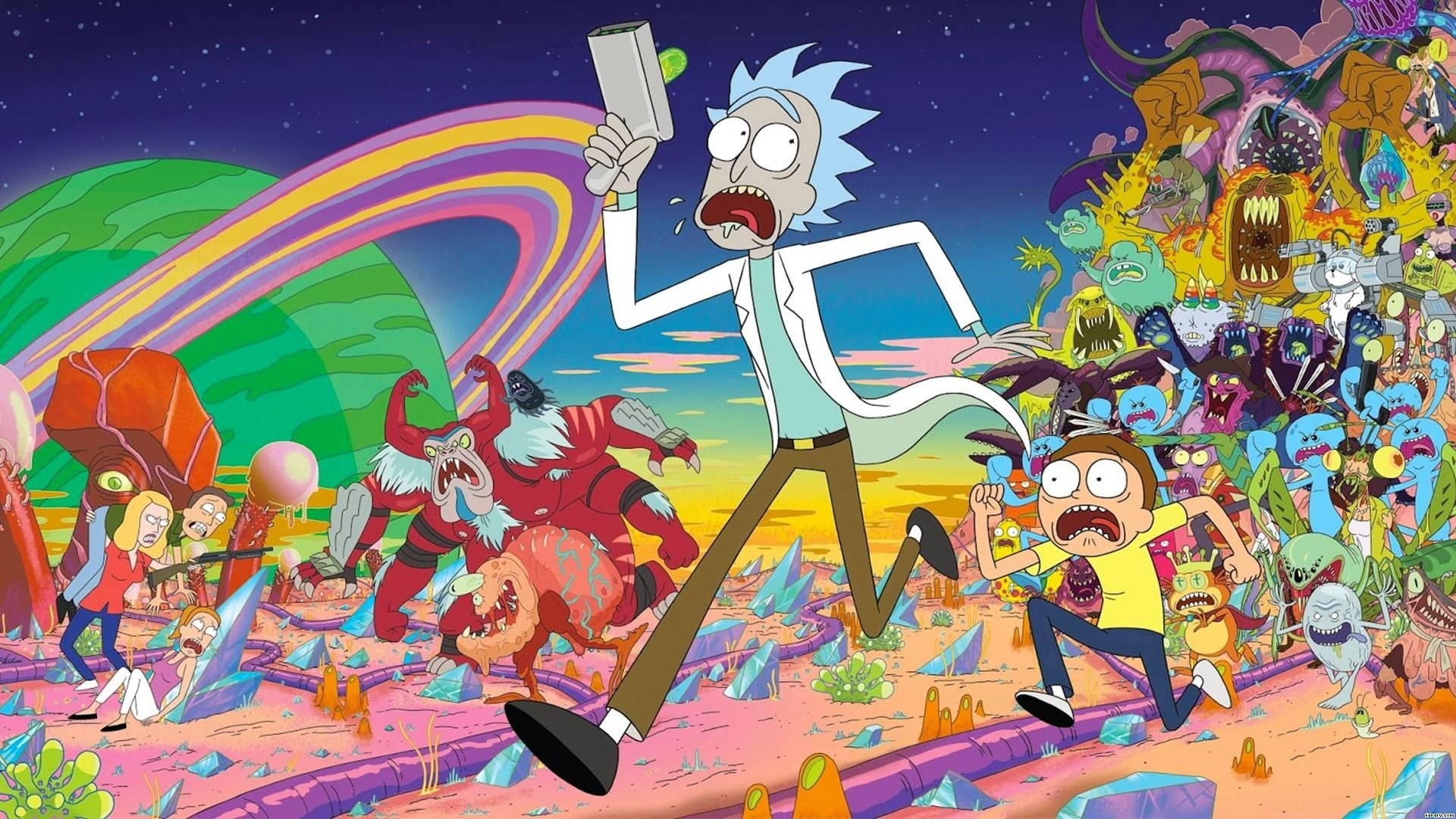 10 Top 1920X1080 Rick And Morty FULL HD 1080p For PC Desktop