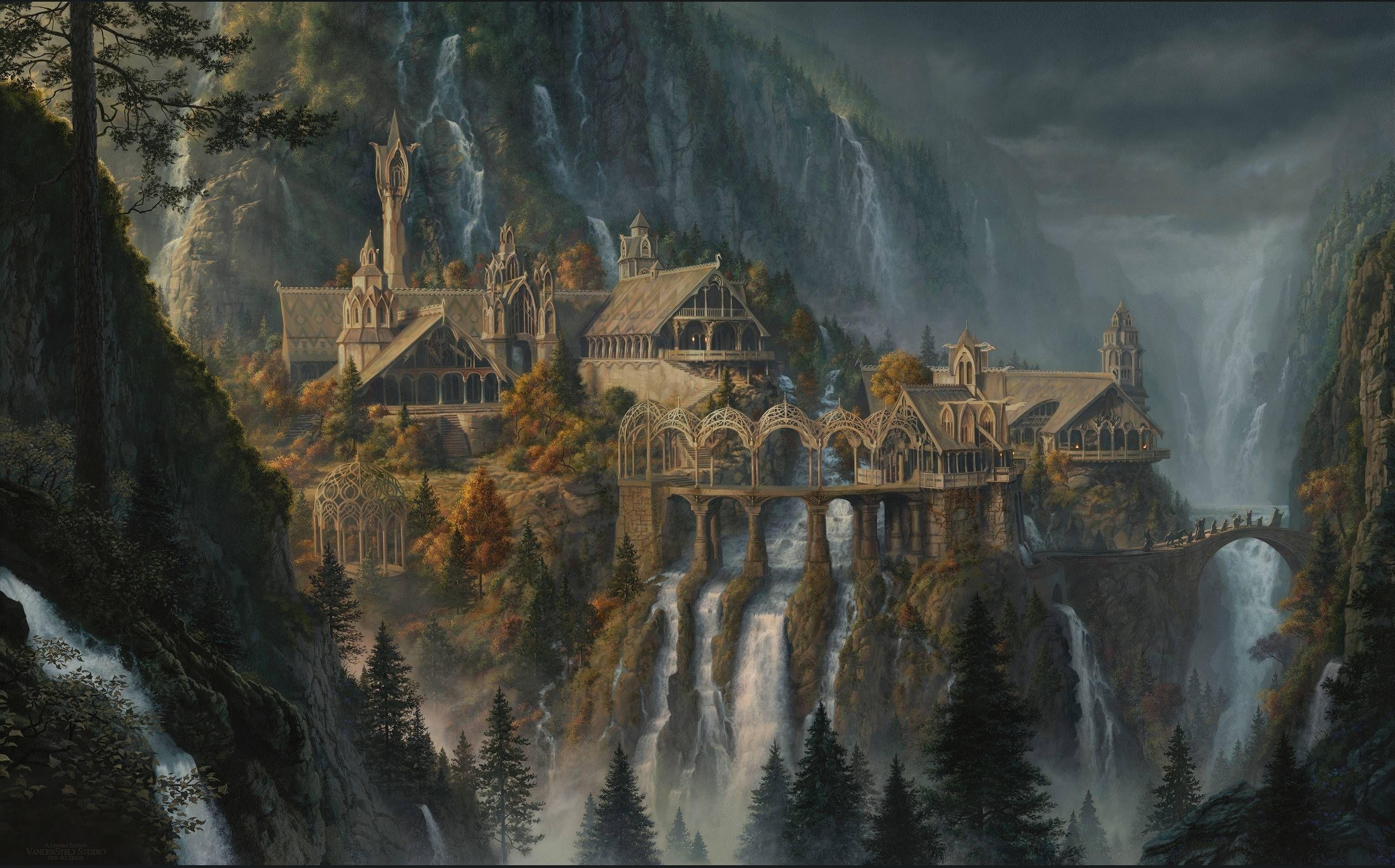 10 Best Lord Of The Rings Wallpaper Rivendell FULL HD 1080p For PC Desktop