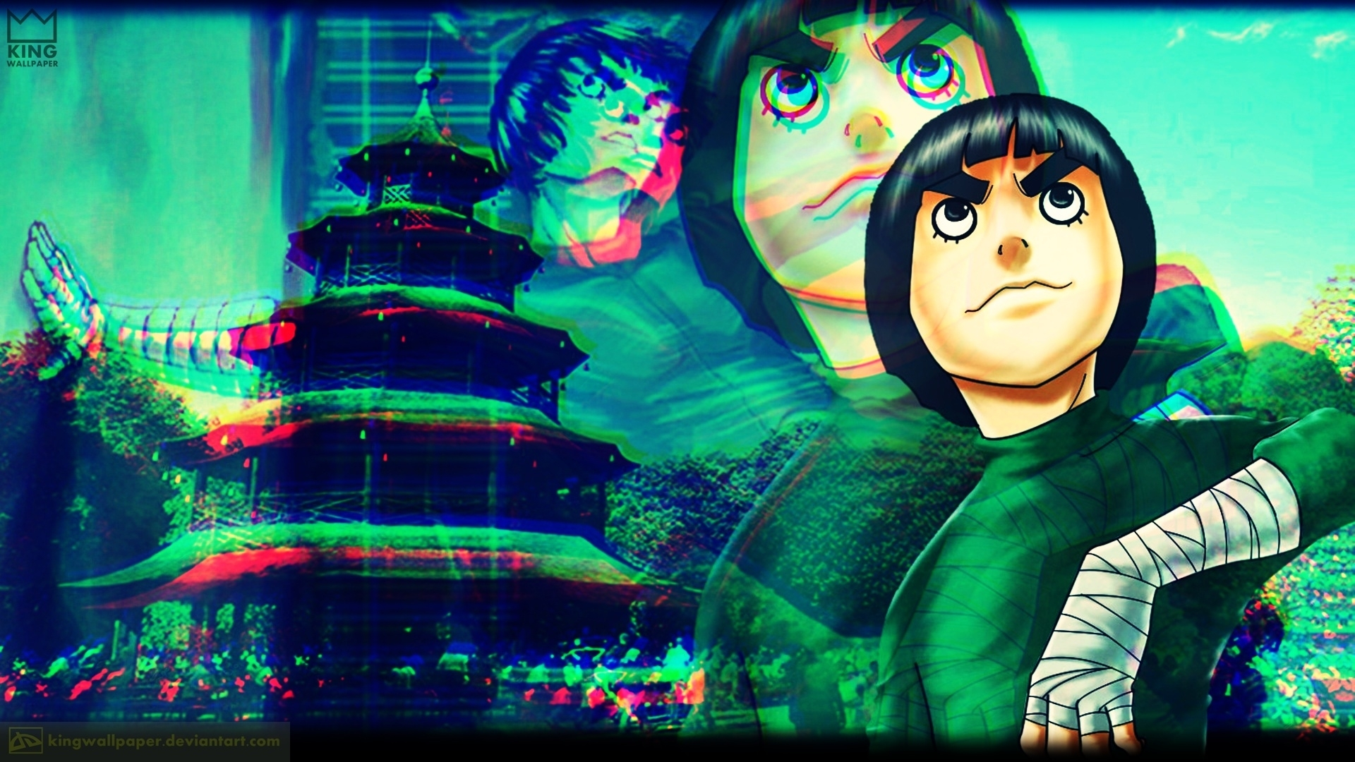 rock lee fond d'écran hd
