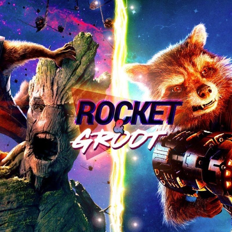 10 Most Popular Rocket And Groot Wallpaper FULL HD 1080p For PC Desktop 2018 free download rocket and groot wallpaper 4kleafpenguins on deviantart 800x800
