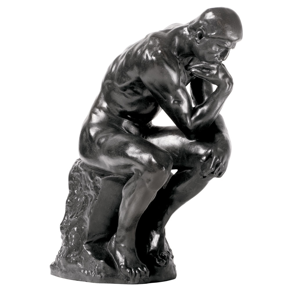 rodin: the thinker sculpture - the met store
