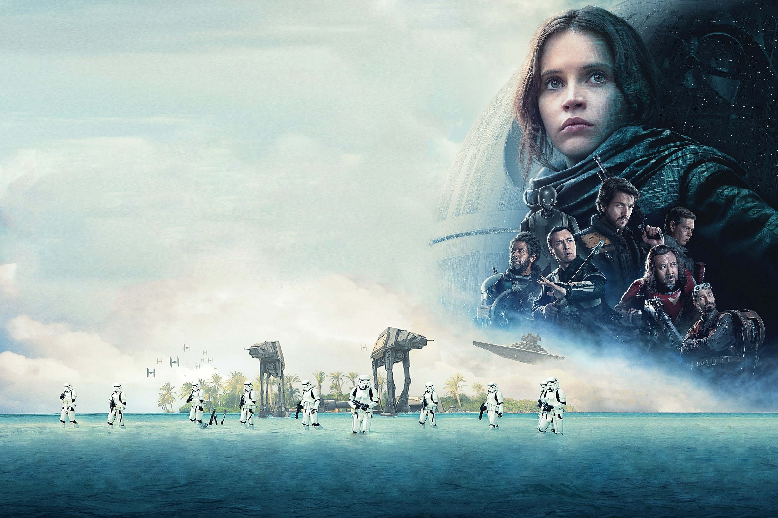 10 Most Popular Rogue One Desktop Wallpaper FULL HD 1920×1080 For PC Background