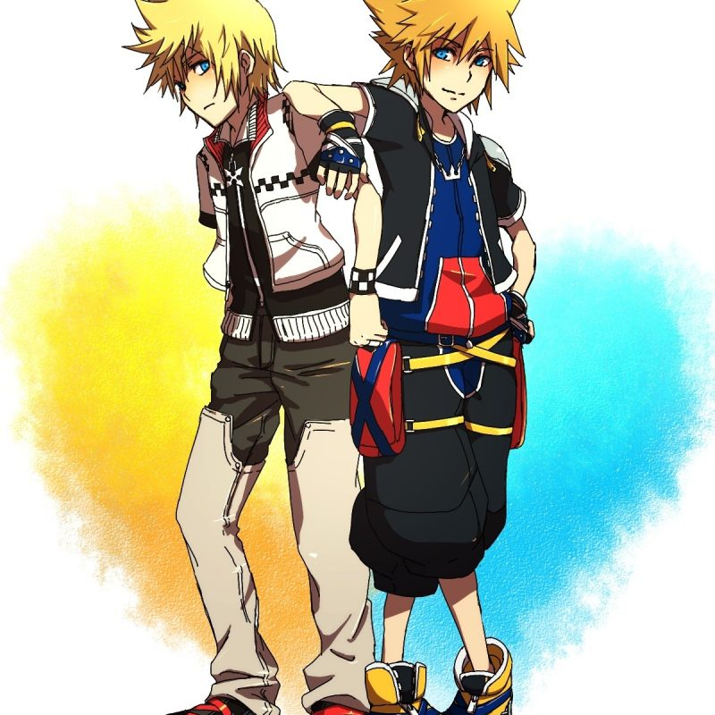 10 Top Sora And Roxas Wallpaper FULL HD 1920×1080 For PC Desktop 2018 free download roxas and sora images sora and roxas3 hd wallpaper and background 800x800