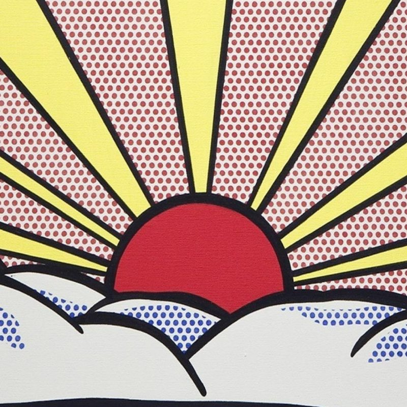 10 Most Popular Pop Art Iphone Wallpaper FULL HD 1080p For PC Desktop 2018 free download roy lichtenstein artwork paintings pop art sunrise wallpaper 87626 1 800x800