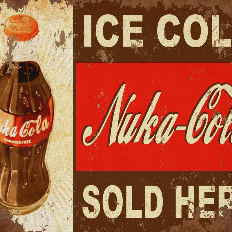 10 Best Fallout Nuka Cola Wallpaper Hd FULL HD 1080p For PC Desktop 2018 free download rusty nuka cola sign full hd fond decran and arriere plan 800x800