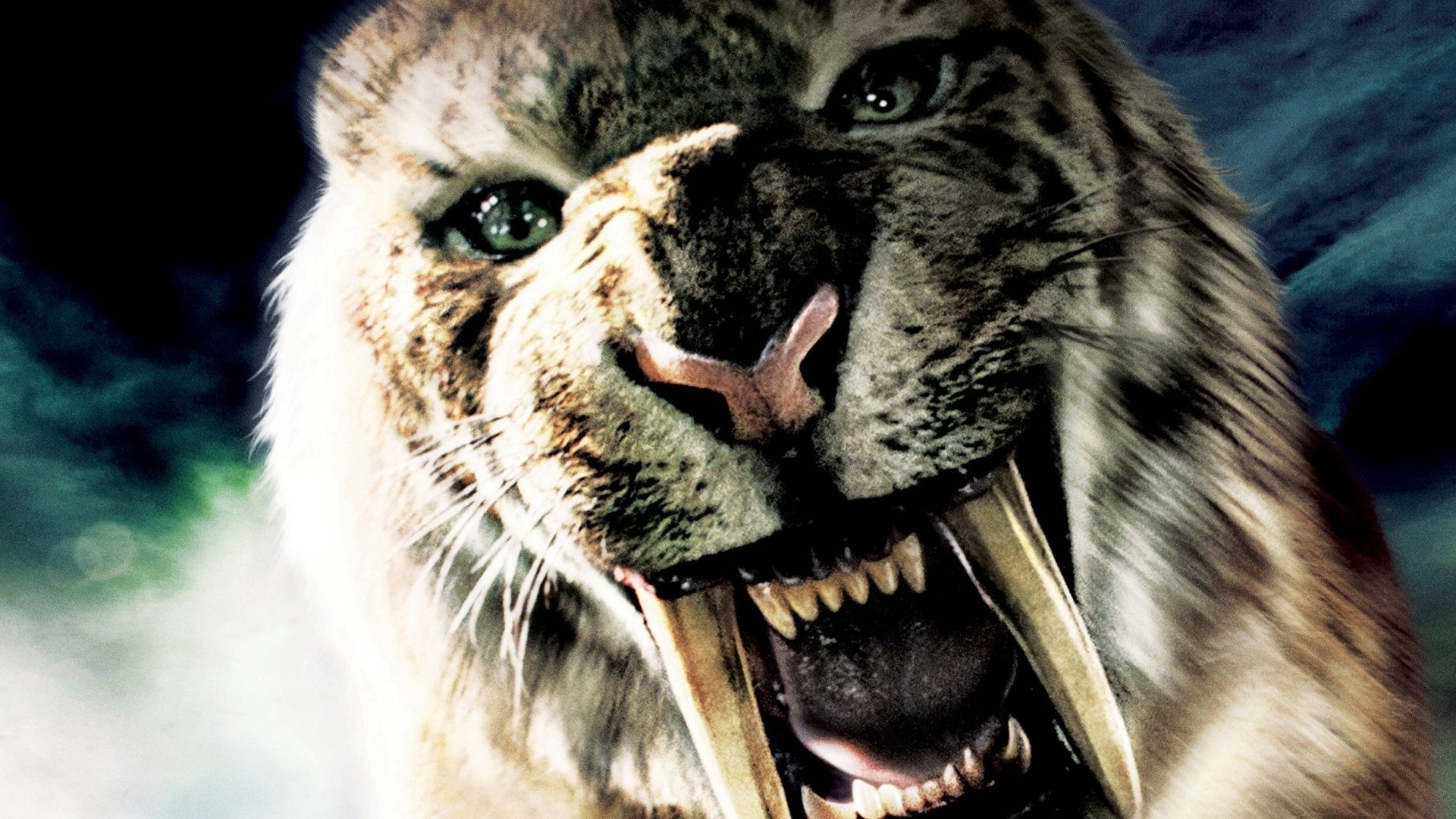 saber tooth tiger full hd fond d'écran and arrière-plan | 1920x1080