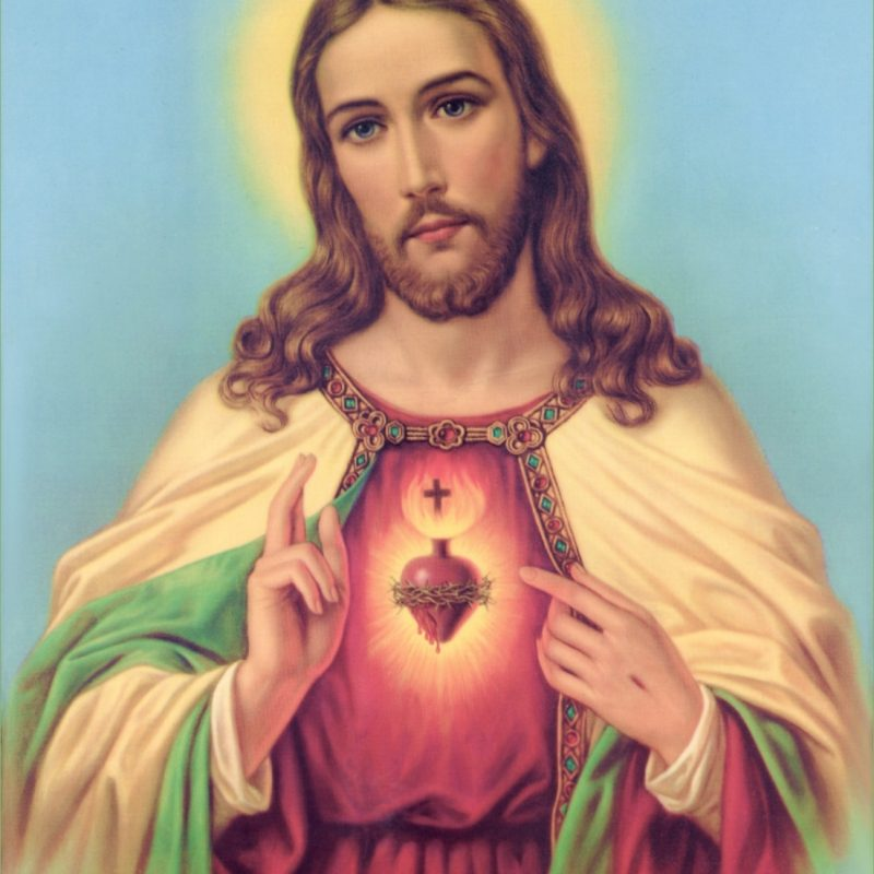 10 New Jesus Sacred Heart Images FULL HD 1080p For PC Background 2021 free download sacred heart of jesus christ wallpaper picture download 1 800x800