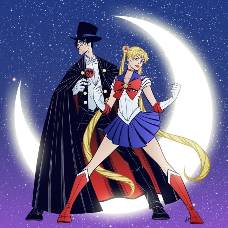 10 Best Sailor Moon Tuxedo Mask Wallpaper FULL HD 1080p For PC Background 2018 free download sailor moon and tuxedo maskgadgetwk on deviantart 800x800