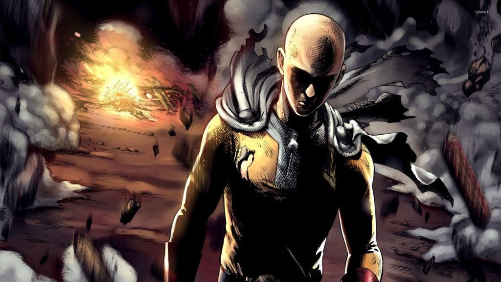 10 Best One Punch Man 1920X1080 Wallpaper FULL HD 1920×1080 For PC Background 2018 free download saitama in an explosion one punch man wallpaper anime 1024x576