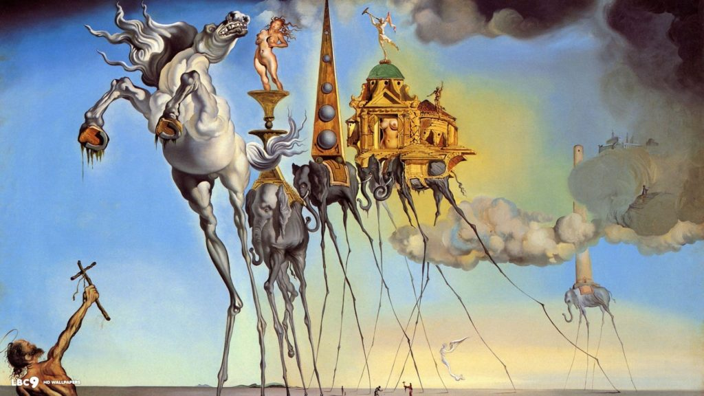 10 Most Popular Salvador Dali Wallpaper Tiger FULL HD 1080p For PC Desktop 2018 free download salvador dali desktop wallpapers wallpaper cave images 1024x576