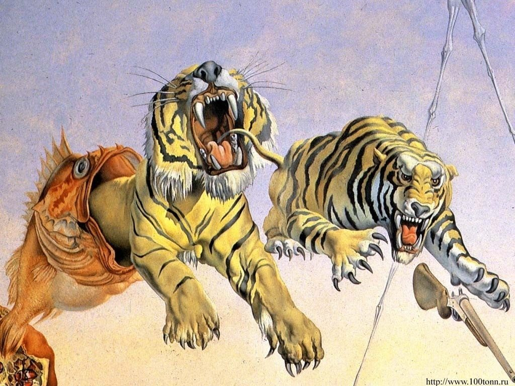 10 Most Popular Salvador Dali Wallpaper Tiger FULL HD 1080p For PC Desktop 2018 free download salvador dali work another ed hardys inspiration roses and 1024x768