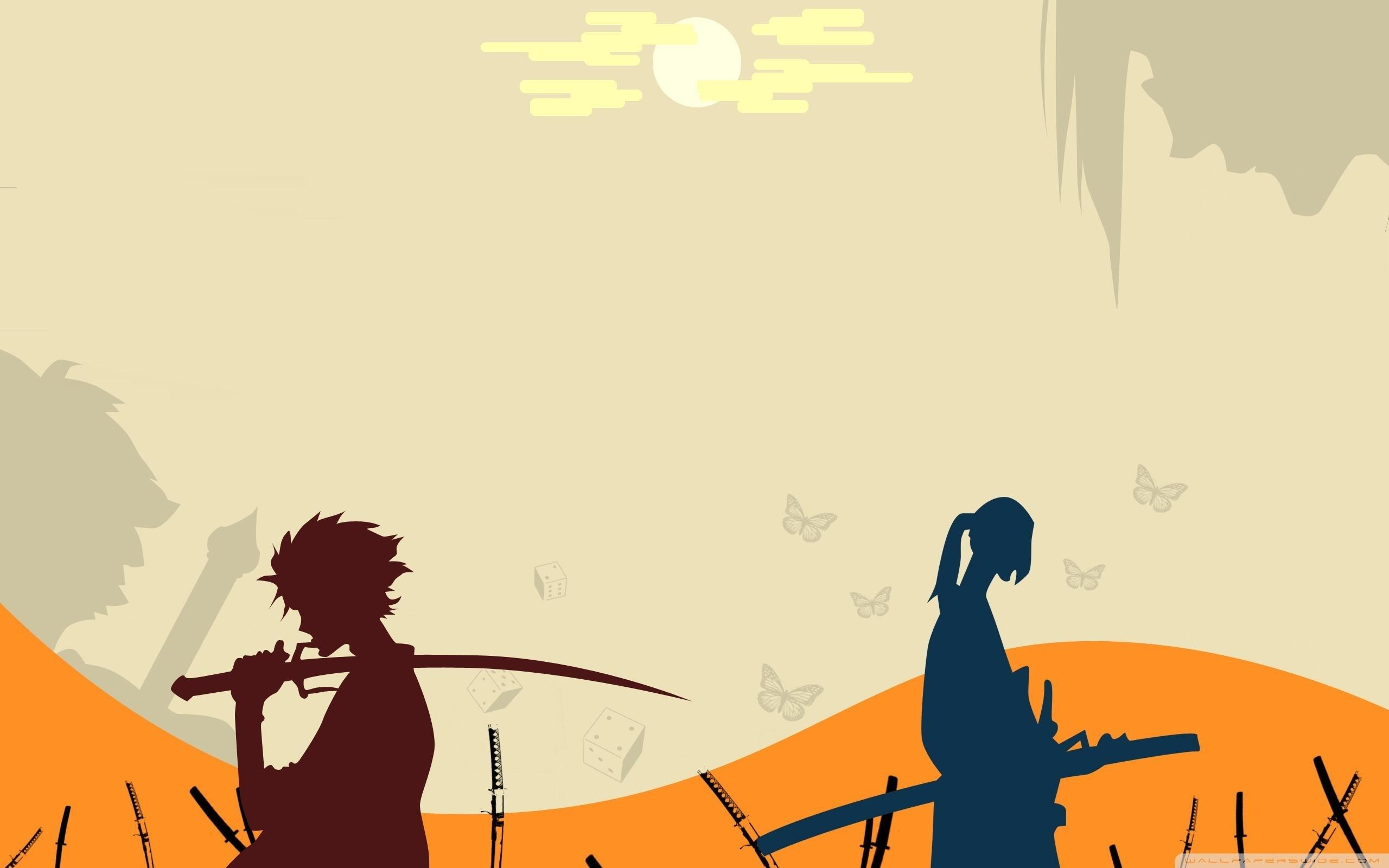 samurai champloo ❤ 4k hd desktop wallpaper for 4k ultra hd tv