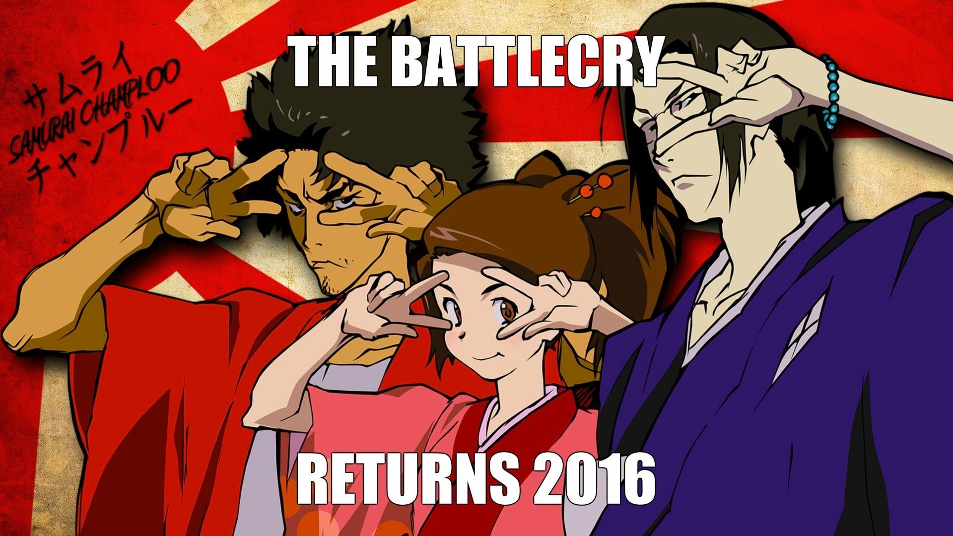 samurai champloo returns to tv toonami baby 2016 - youtube