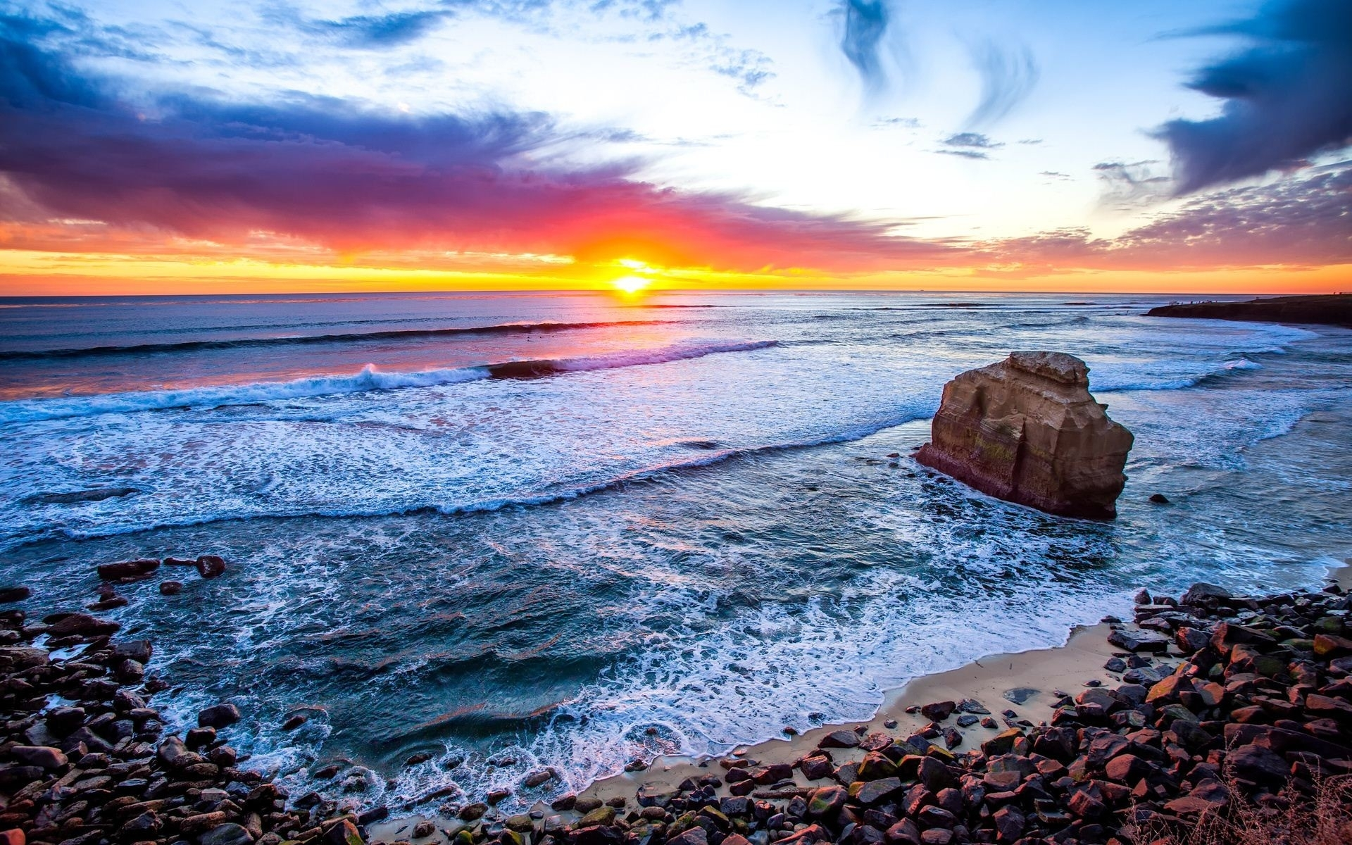san diego beach pictures wallpaper (48+ images)
