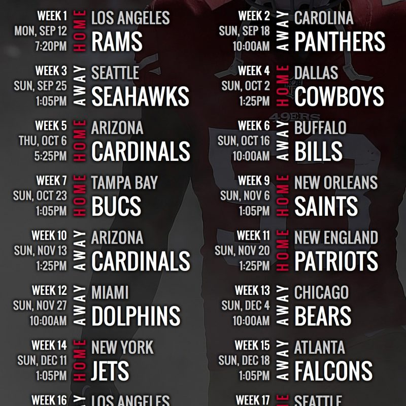 10 Top 49Ers 2017 Schedule Wallpaper FULL HD 1080p For PC Background 2018 free download san francisco 49ers 2016 schedule wallpaper for your phone san 800x800