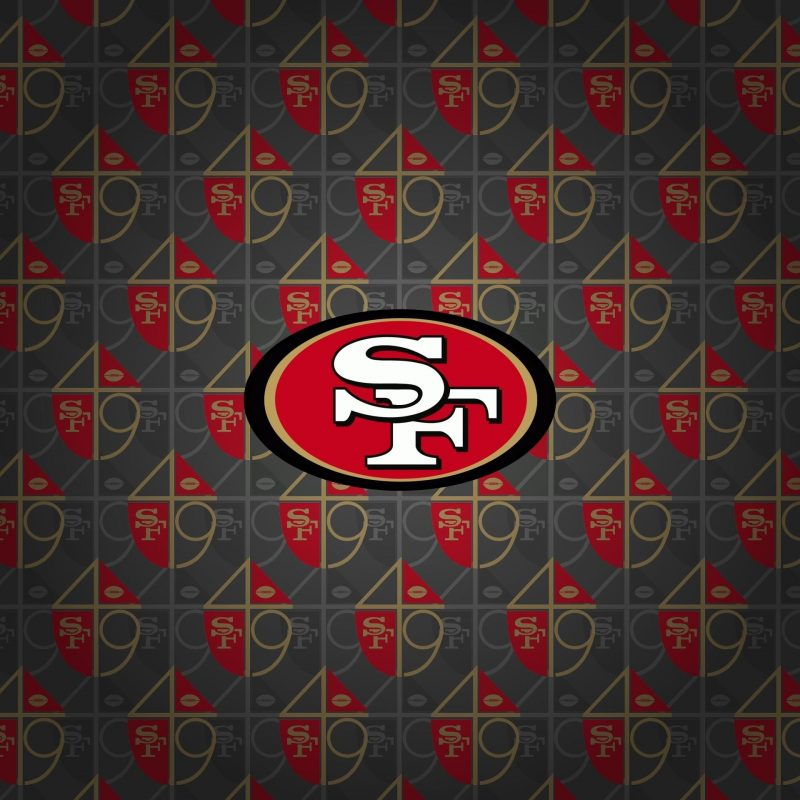 10 Top San Francisco 49Ers Logo Wallpaper FULL HD 1920×1080 For PC Desktop 2018 free download san francisco 49ers logo hd wallpaper niners pinterest san 800x800
