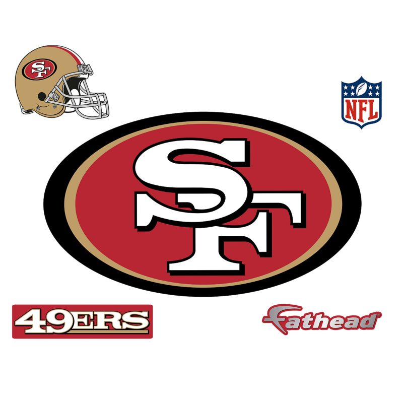 10 Latest Images Of The 49Ers Logo FULL HD 1080p For PC Desktop 2018 free download san francisco 49ers logo wall decal shop fathead for san 800x800