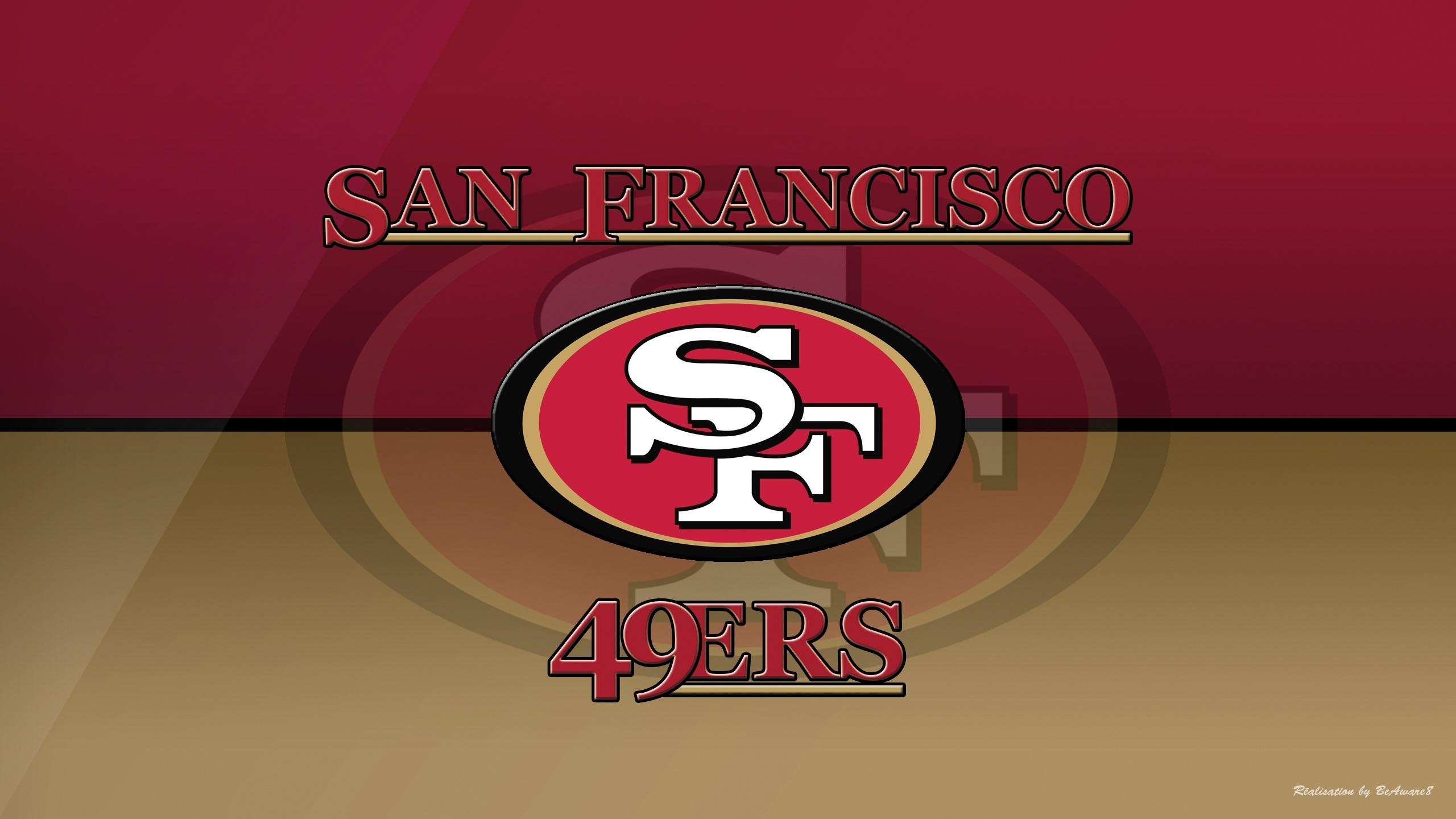 san francisco 49ers logo wallpaper - 1318489