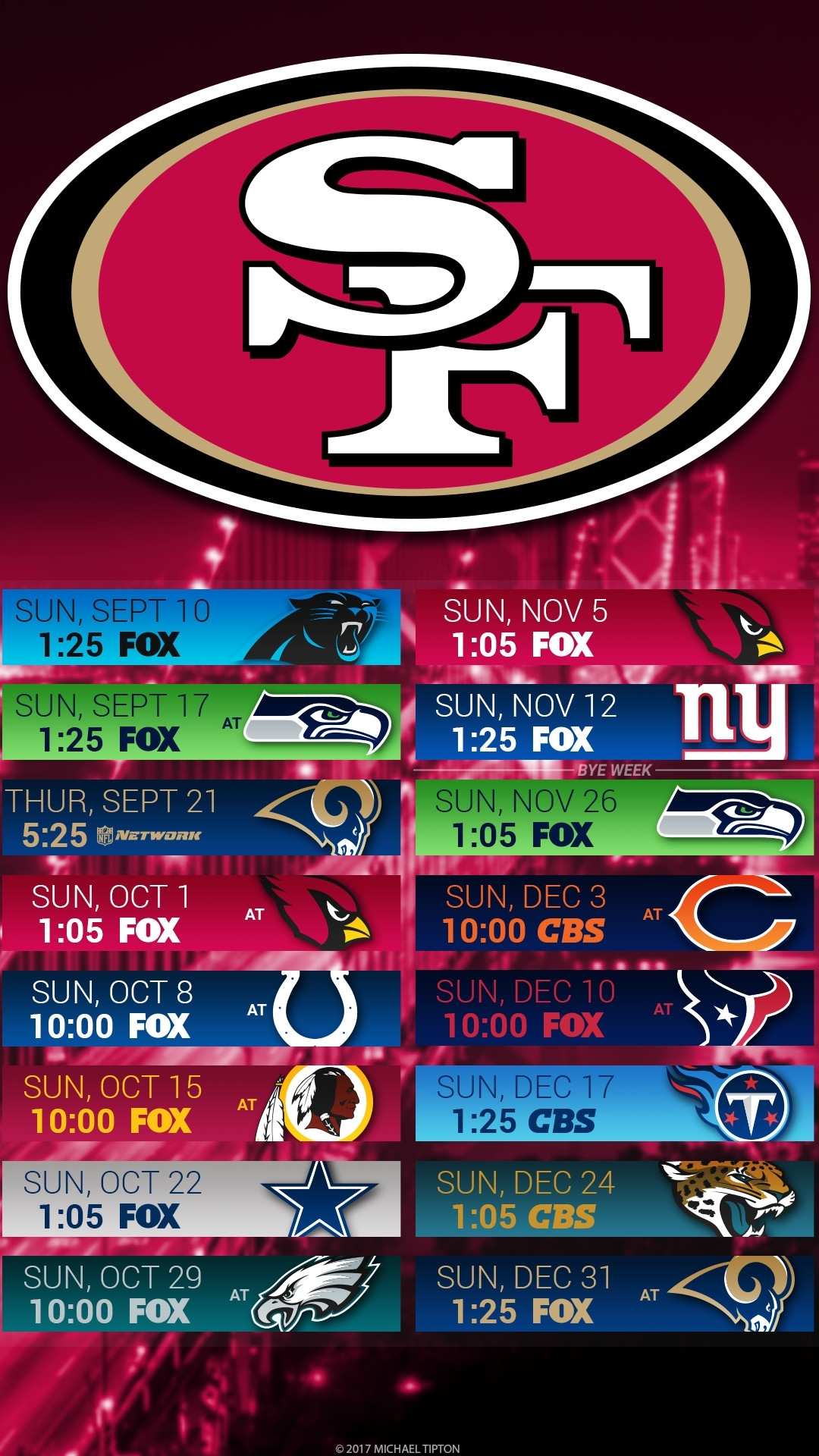 10 Top 49Ers 2017 Schedule Wallpaper FULL HD 1080p For PC ...