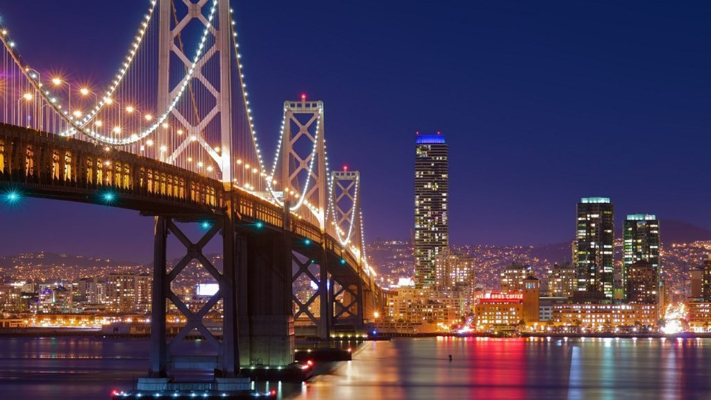 10 Latest San Francisco Skyline At Night Hd FULL HD 1920×1080 For PC Desktop 2018 free download san francisco oakland bay bridge at night wallpaper wallpaper 1024x576