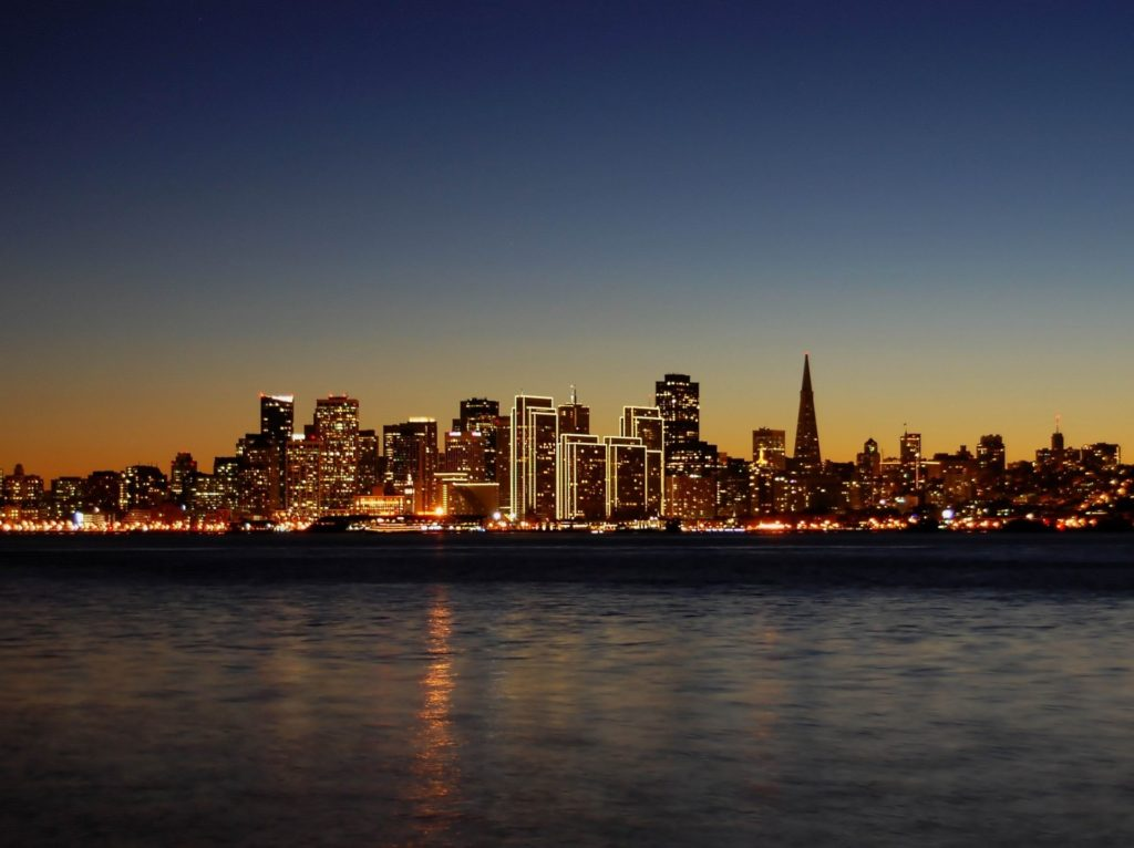 10 Latest San Francisco Skyline At Night Hd FULL HD 1920×1080 For PC Desktop 2018 free download san francisco skyline at night california united states id 1024x766