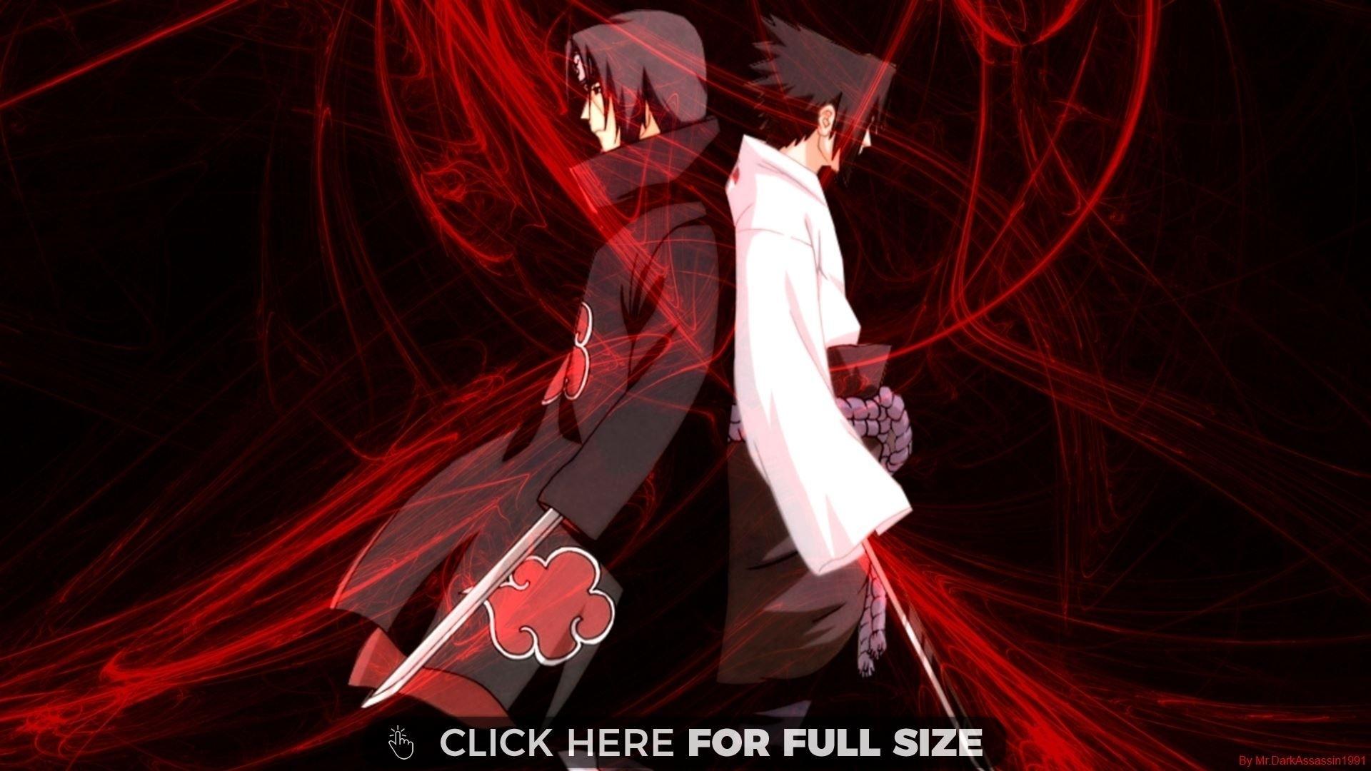 sasuke vs itachi naruto | desktop wallpapers | pinterest