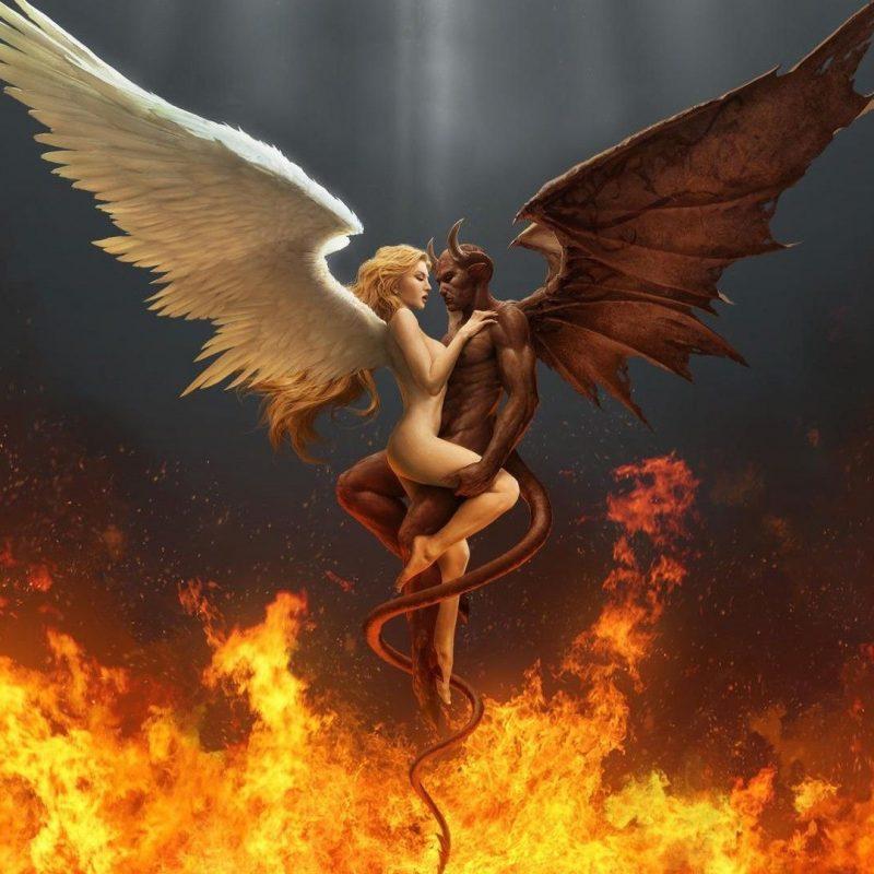 10 Top Angel And Demons Wallpaper FULL HD 1080p For PC Desktop 2018 free download scary demon wallpaper digital art hd fire demon angel 1 800x800