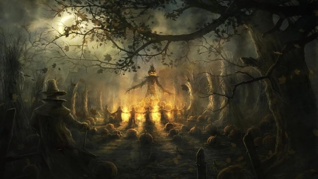 10 Most Popular Scary Halloween Wallpapers Free FULL HD 1080p For PC Background 2021 free download scary halloween wallpapers hd wallpaper cave 1024x576
